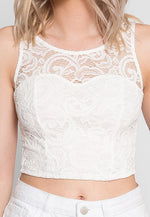 Cana Lace Crop Top