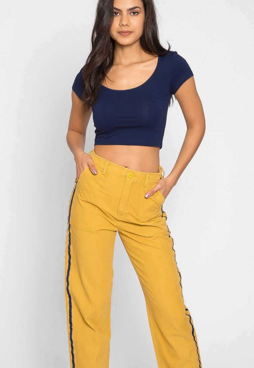 Construction Twill Pants - Pants - Wetseal