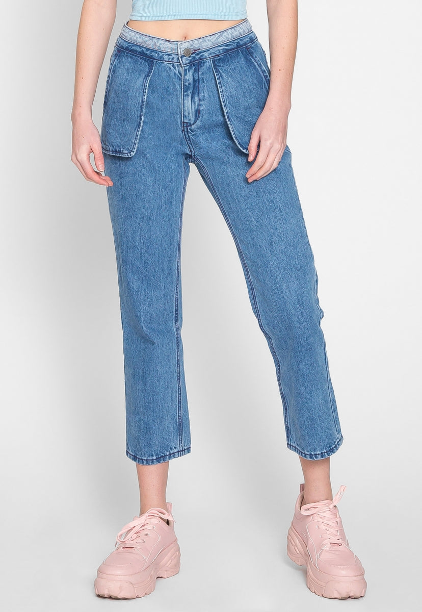 Arts District Stone Wash Denim Jeans - Jeans - Wetseal