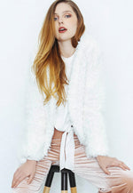 Everest Shaggy Faux Fur Coat