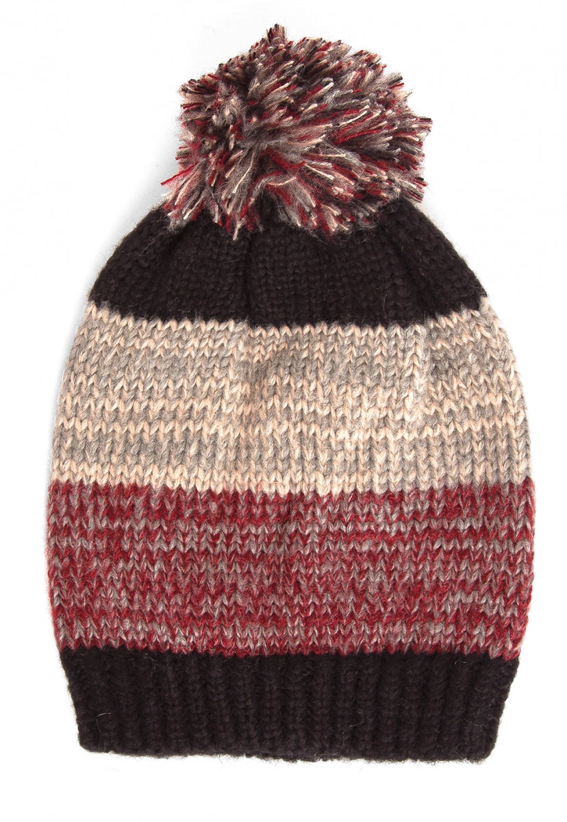 Moments Speck Pom Pom Beanie in Black - Hat & Hair - Wetseal