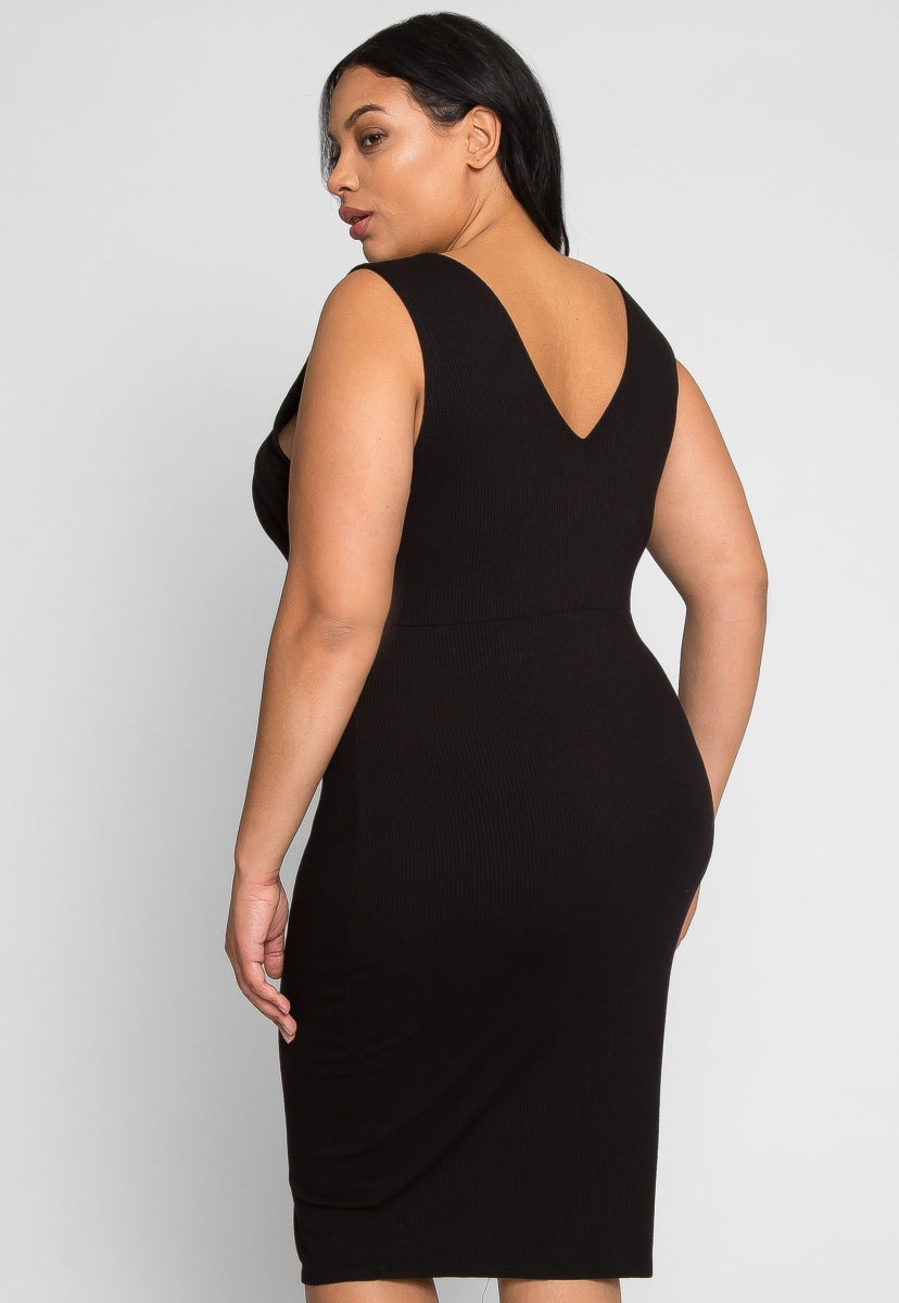 Plus Size Revival Knit Dress
