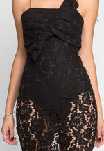 Atlantic Lace Front Tie Dress
