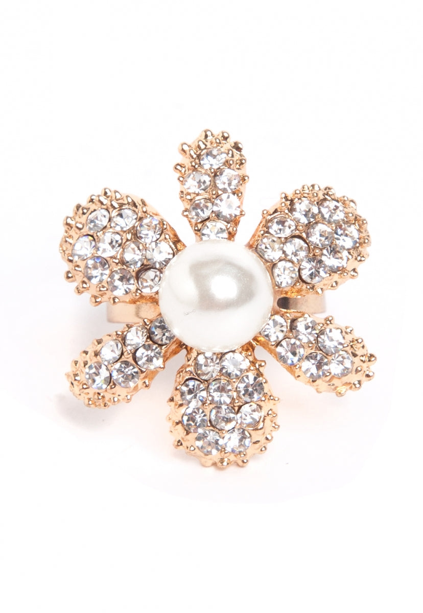 Daisy Ring in Gold - Jewelry - Wetseal