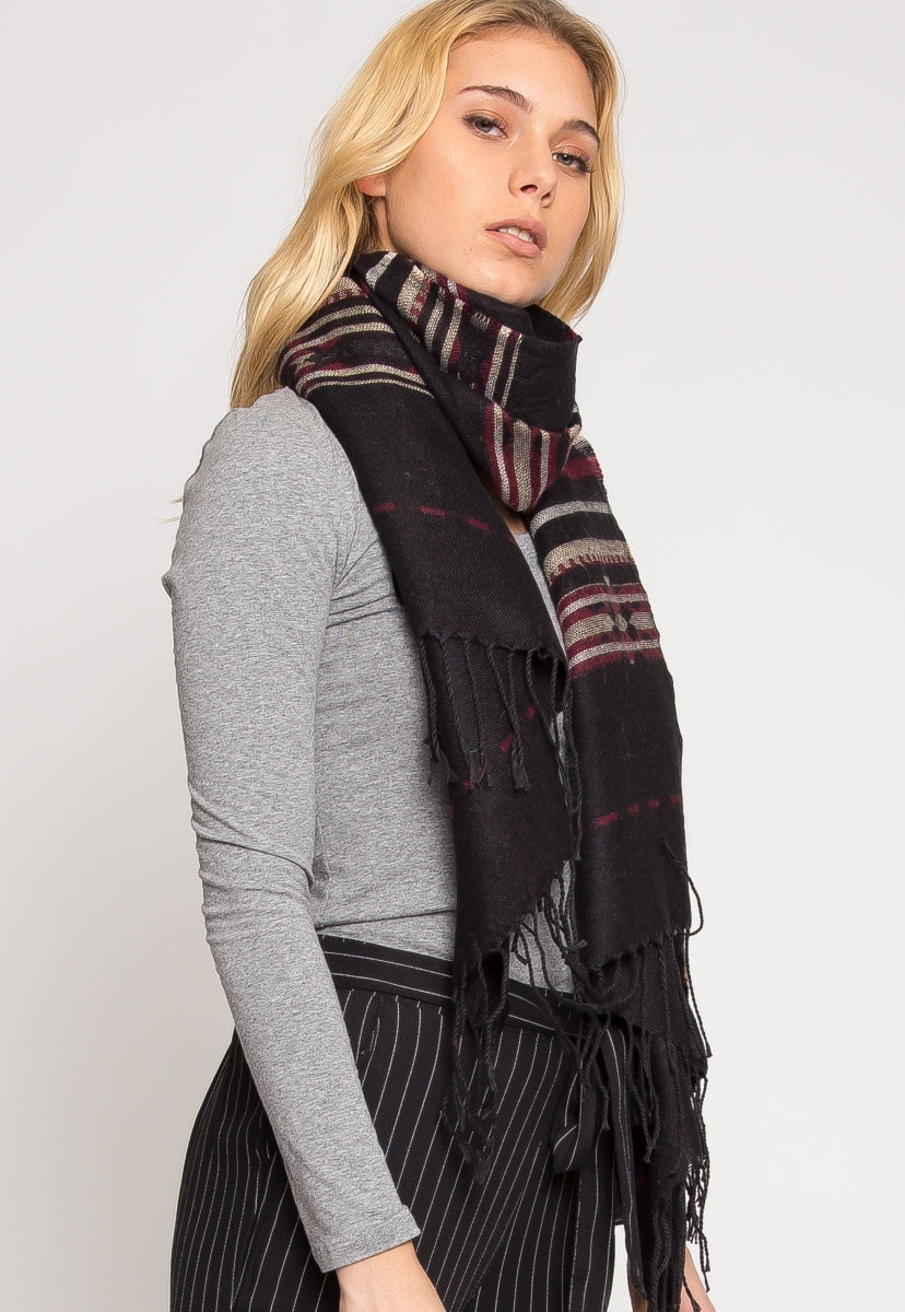 River Printed Scarf - Scarves & Gloves - Wetseal