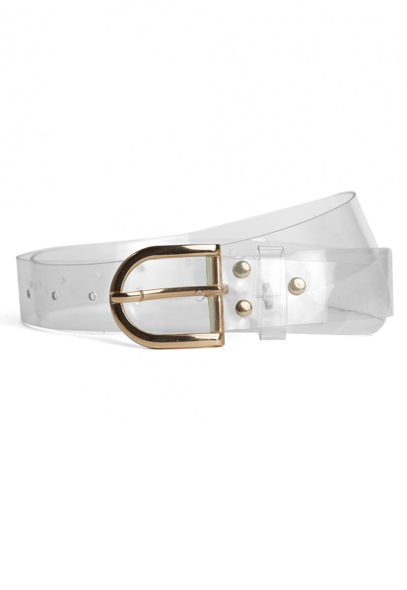 Clean Slate Jean Belt in Taupe - Belts - Wetseal