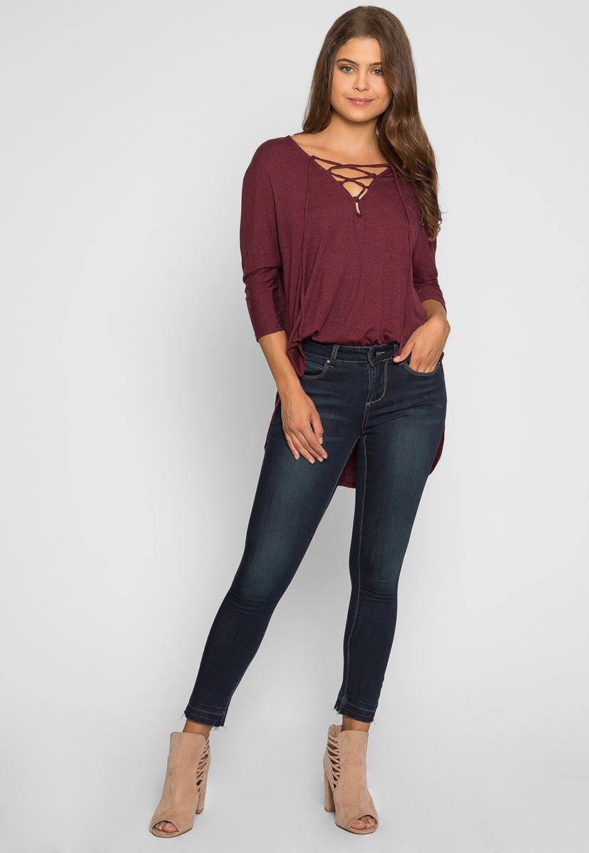 Taking Control Skinny Jeans - Pants - Wetseal