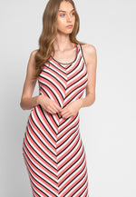 All Eyes Stripe Dress