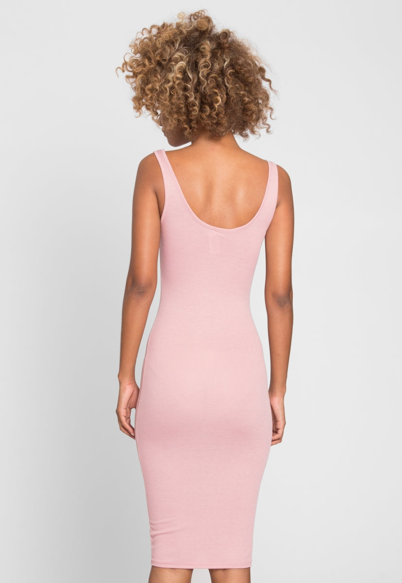 Hugs and Kisses Bodycon Dress in Blush - Dresses - Wetseal