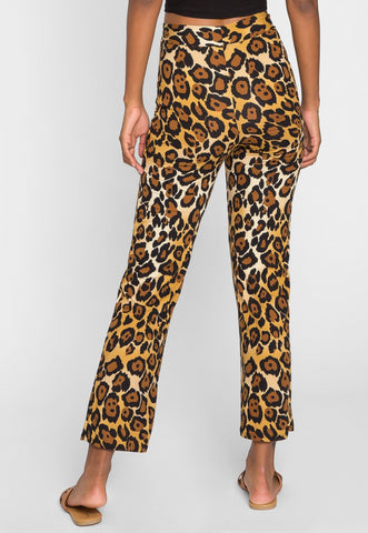 Insane Leopard Knit Pants