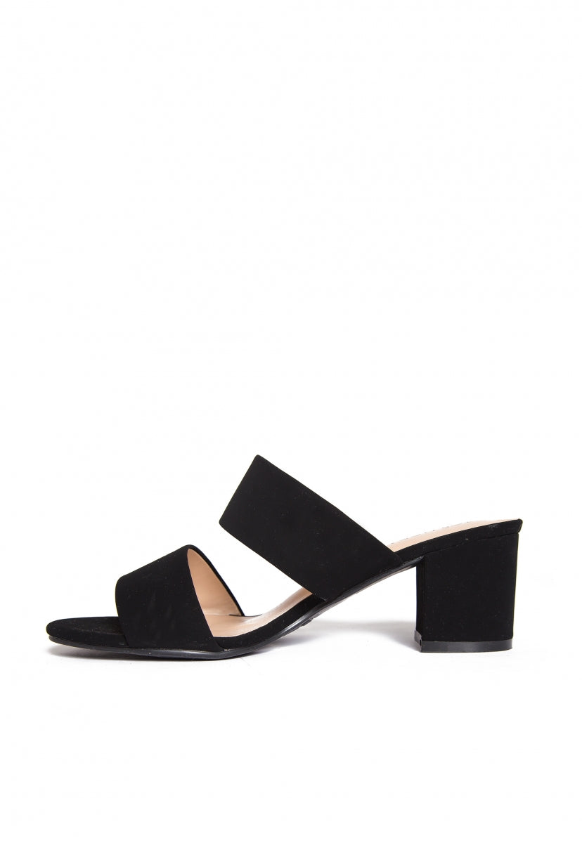 Kenney Block Heel Sandals - Shoes - Wetseal