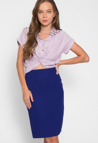 Maybell Fitted Skirt