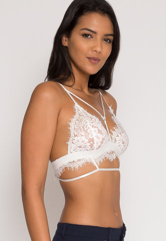 Lace Bralette in White