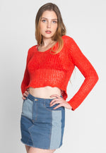 Morning Glory Knitted Sweater