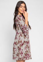 Vivian Floral Sweater Dress
