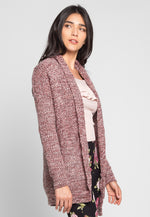 Majesty Marled Cardigan