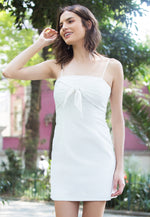 Eve Tie Front Linen Dress