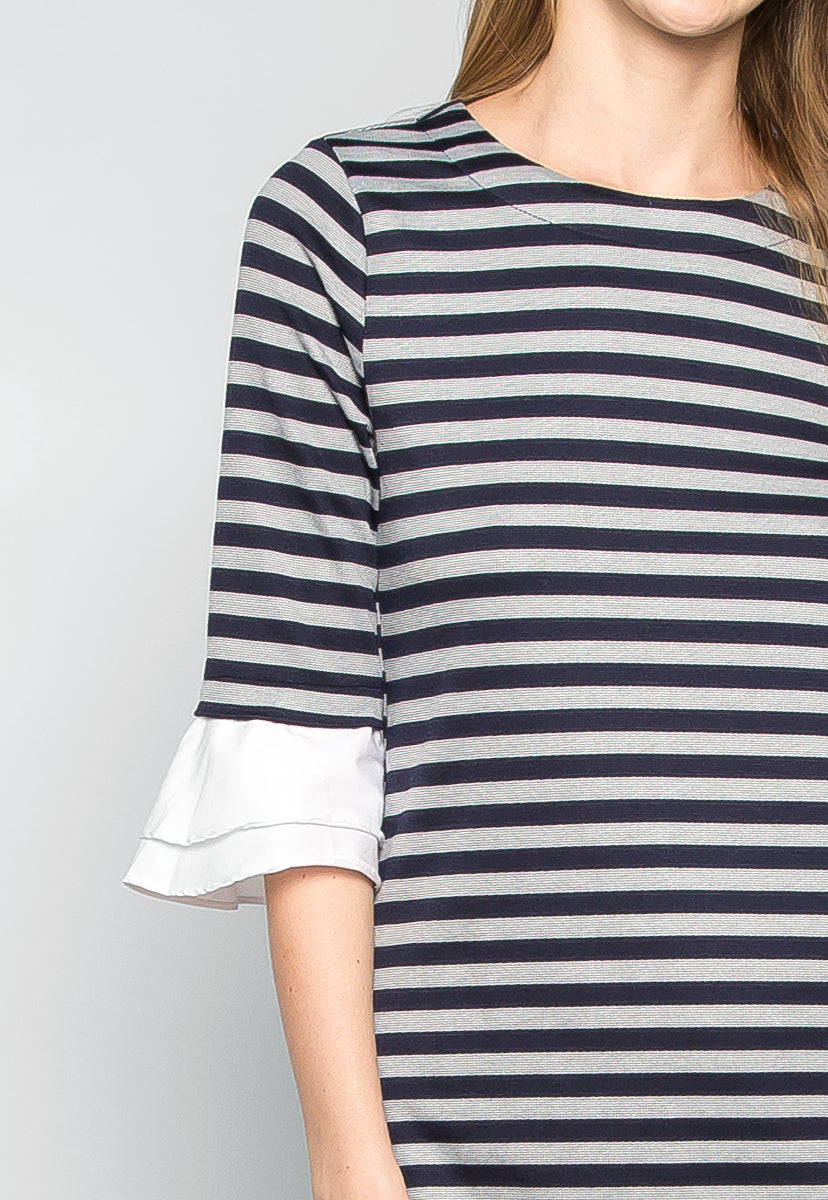 Freelove Striped Tunic Dress - Dresses - Wetseal