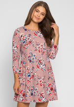 The Promise Floral Printed Dress