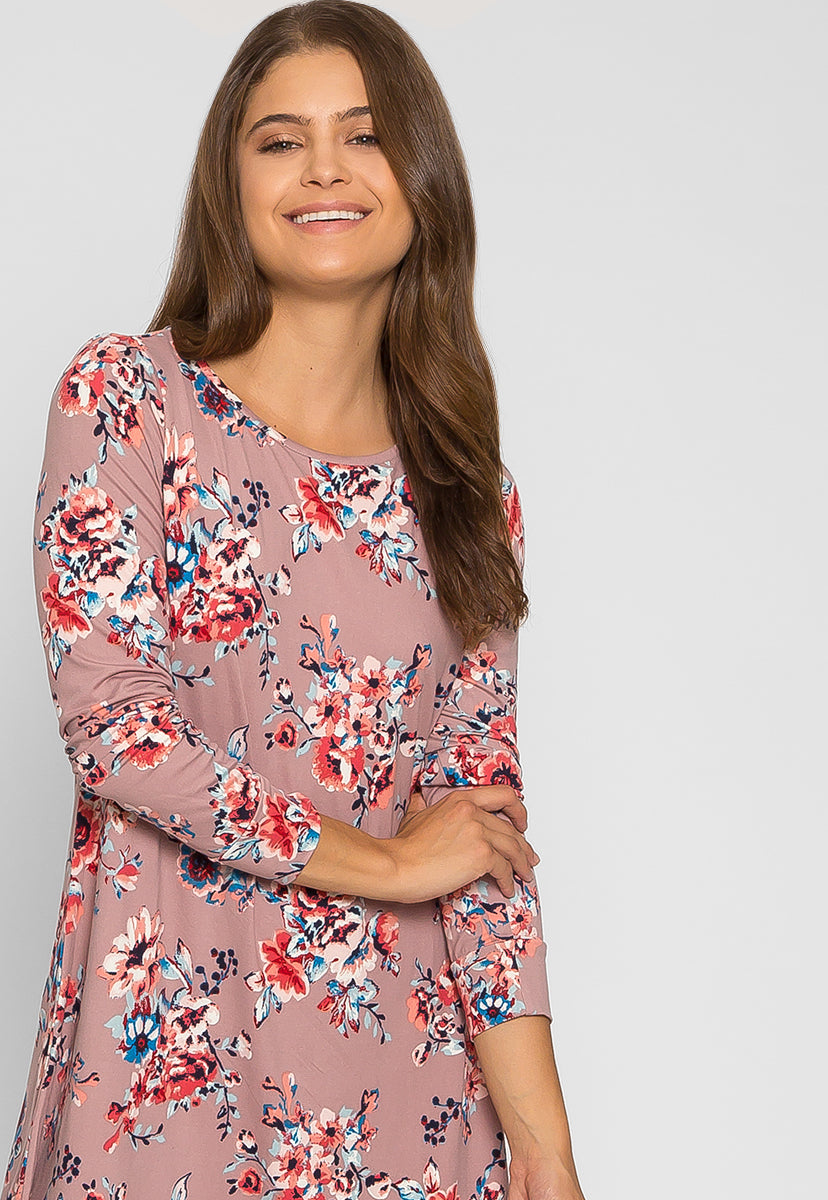 The Promise Floral Printed Dress - Dresses - Wetseal