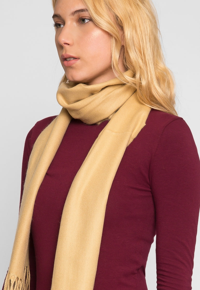 This Time Soft Scarf in Beige - Scarves & Gloves - Wetseal