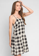 In The Air Plaid Dress