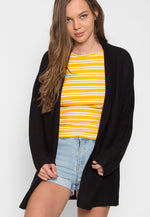 Dani Knit Cardigan in Black