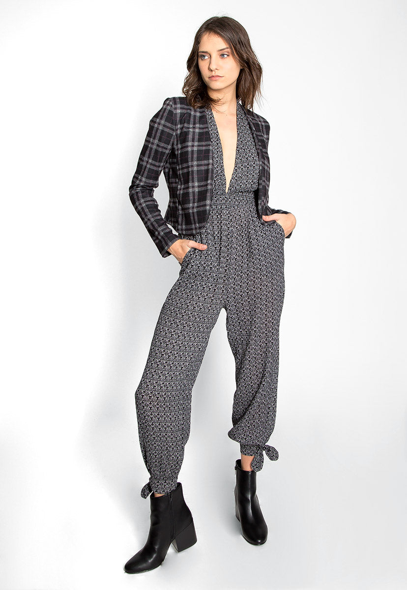 Taylor Plaid Open Front Jacket - Jackets & Coats - Wetseal