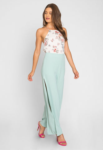 Sea Grass Wide Leg Pants