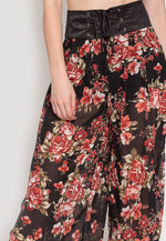 Samba Semi Sheer Flower Pants