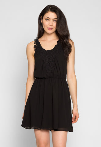 Crazy About You Front Lace Dress