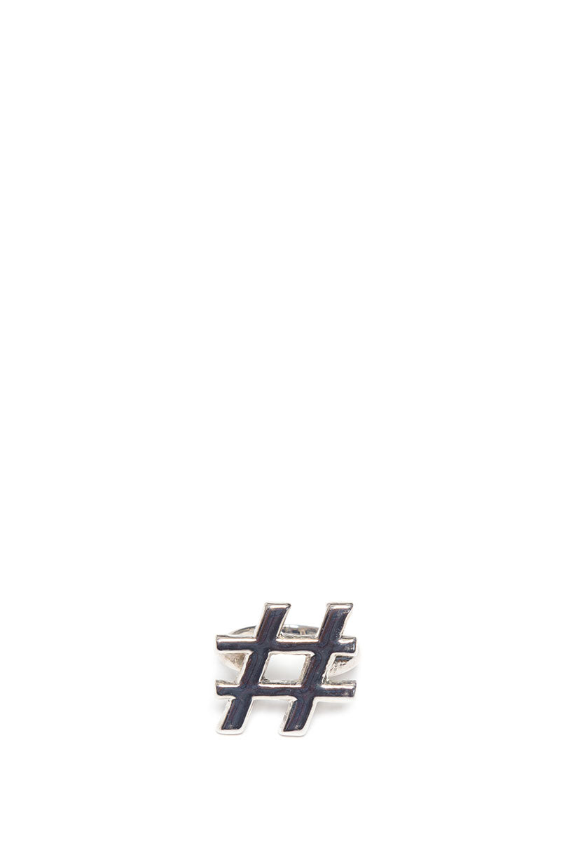 Hashtag Statement Ring - Jewelry - Wetseal