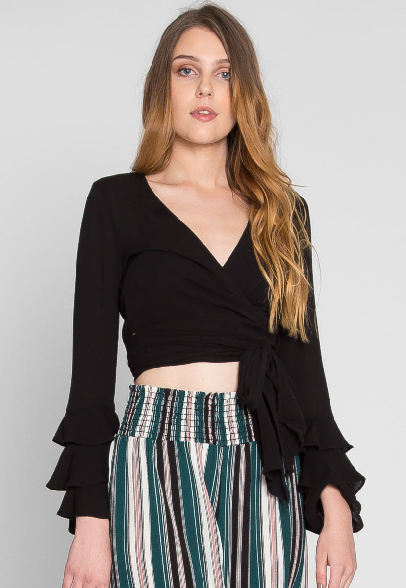 All Around Wrap Top - Crop Tops - Wetseal