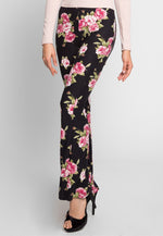 Rose Water Floral Bell Pants