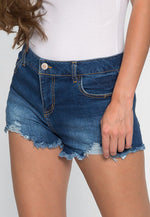 Sydney Distressed Jean Shorts