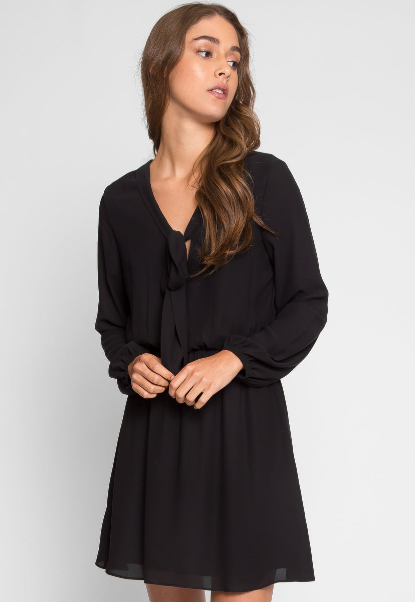 Raven Fit and Flare Dress - Dresses - Wetseal