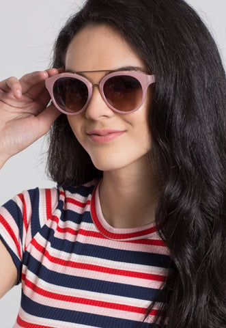 Bubble Gum Cat Eye Sunglasses