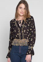 Roxie Printed Floral Blouse