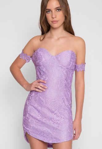 Just Like Heaven Lace Dress