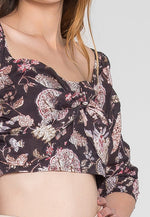 Your Sweetheart Floral Crop Top