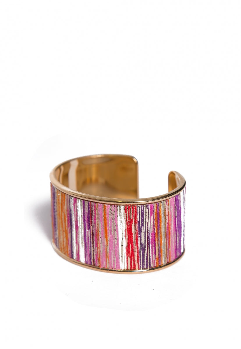 Sherbet Multi Color Cuff - Jewelry - Wetseal