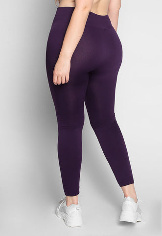 Plus Size Vineyard Fleece Lined Leggings
