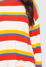 Plus Size Sweetie Multi Stripe Top