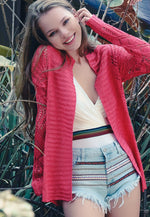 Spring Air Crochet Cardigan