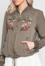 Blooming Embroidered Lightweight Jacket