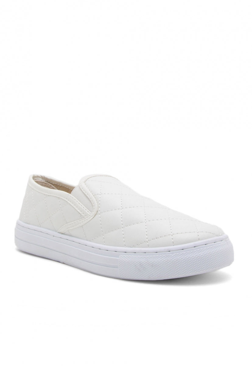 Brookhurst Quilted Slip On Sneakers - Shoes - Wetseal