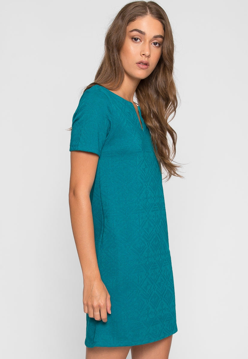 Lily Textured Dress - Dresses - Wetseal