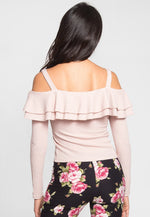 Rivers Ruffle Off Shoulder Top