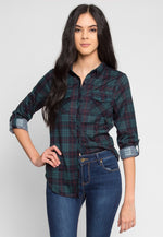 Lisbon Plaid Flannel Shirt