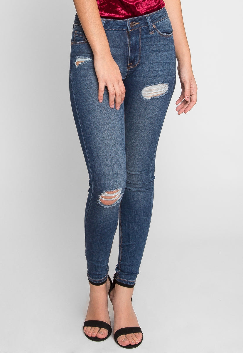 How I Feel Stretch Skinny Jeans - Pants - Wetseal